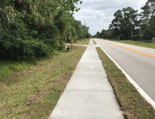 Brooks Lane Sidewalk Project- Seminole County- Florida
